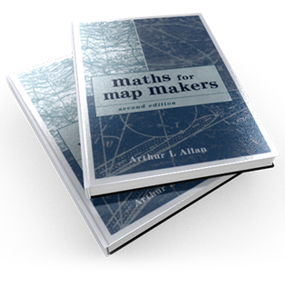 Cover book Maths for Map Makers, 2nd edition